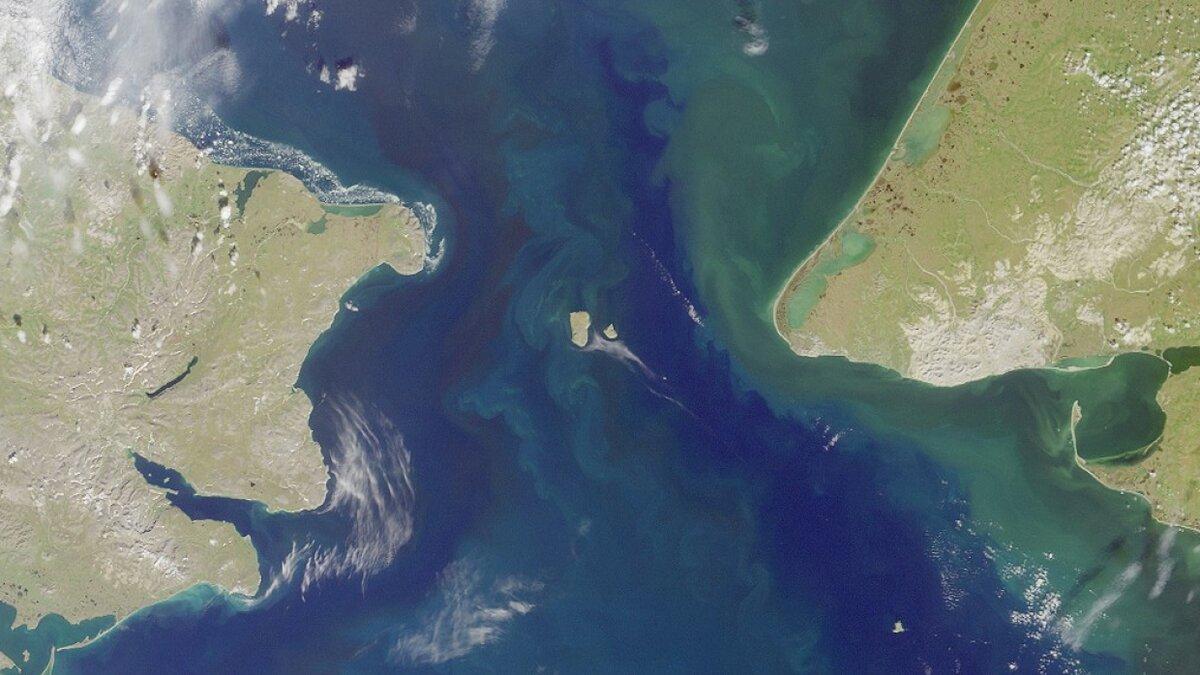 Расстояние между островами