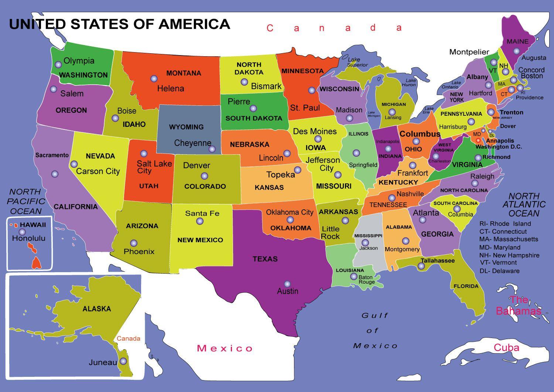 Штаты Америки