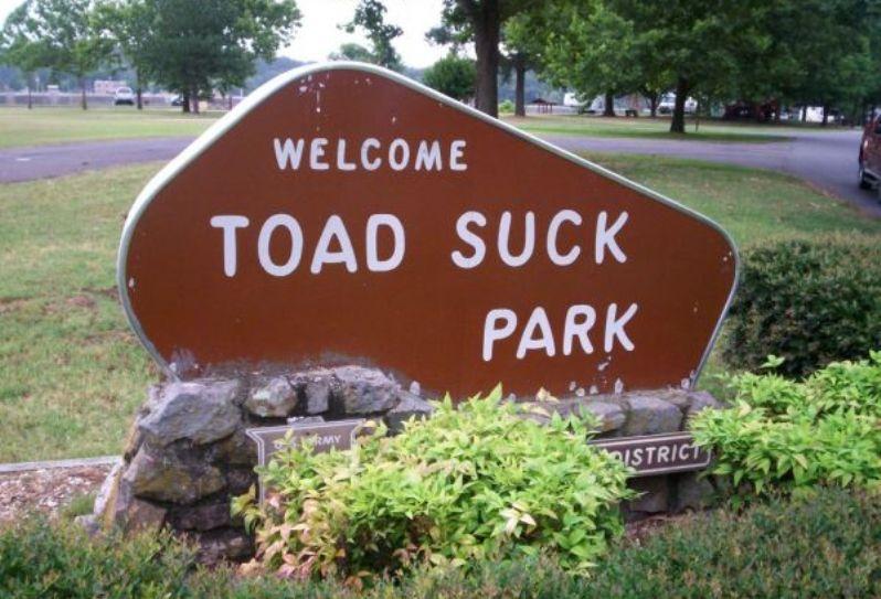 Парк сосания жабы