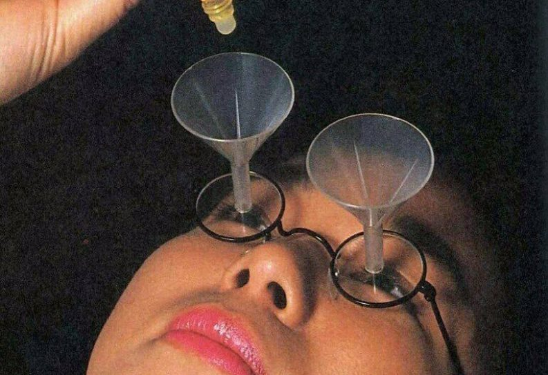 Очки для закапывания глаз