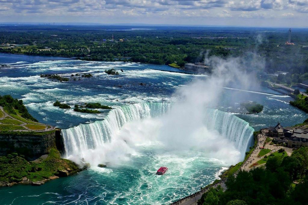Близ Ниагарского водопада