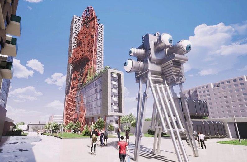 Проект башни в Праге