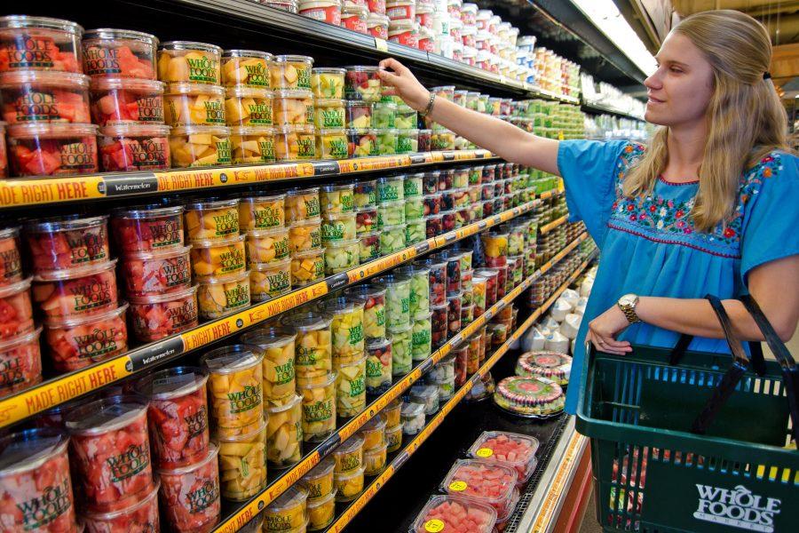 Супермаркет в Америке