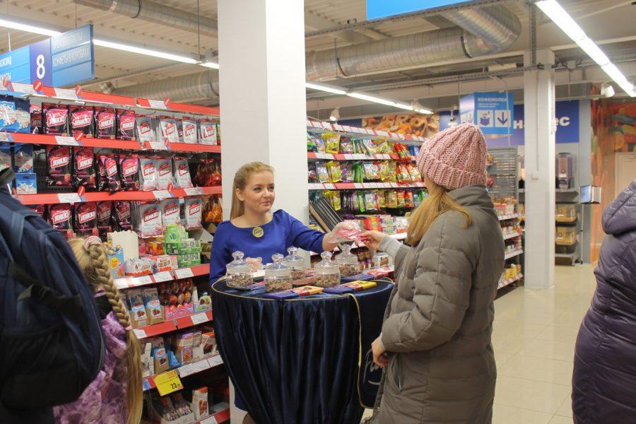 Дегустация в супермаркете
