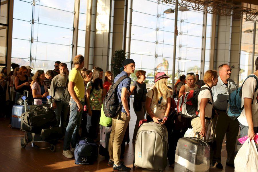 Русские в аэропорту