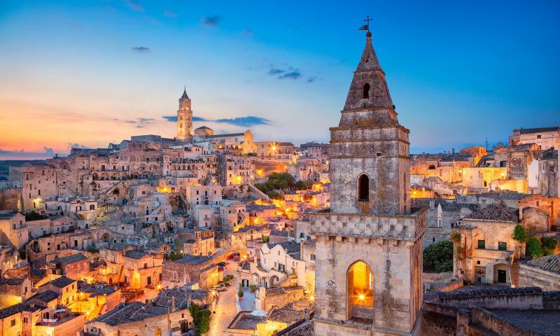 Библейский город в Италии
