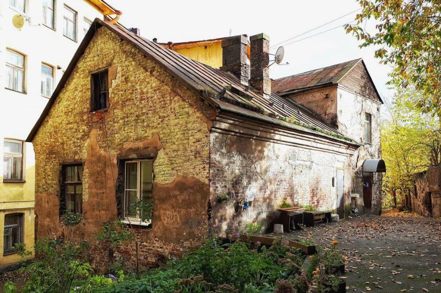 Старый дом в Выборге