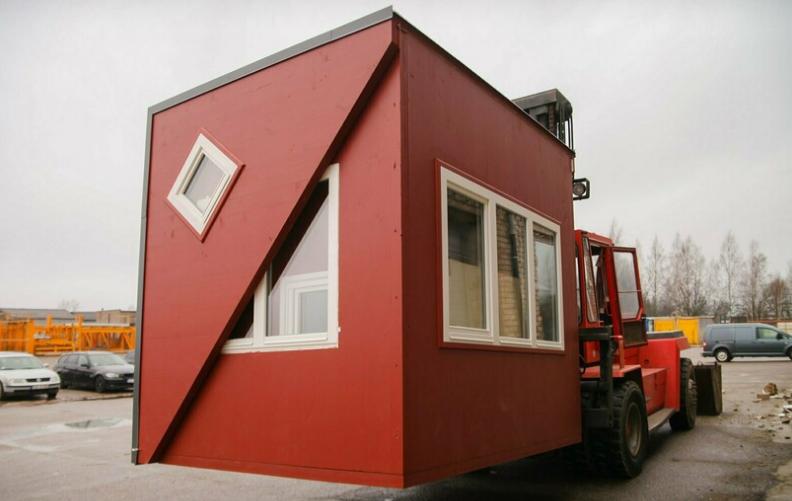 Складывающийся дом