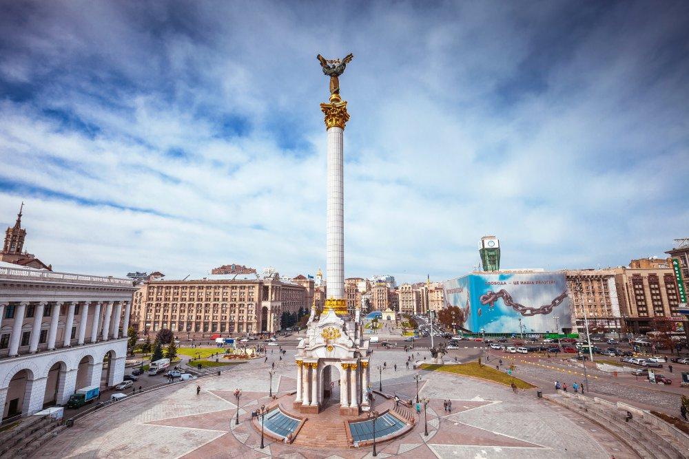 Площадь Киева Майдан