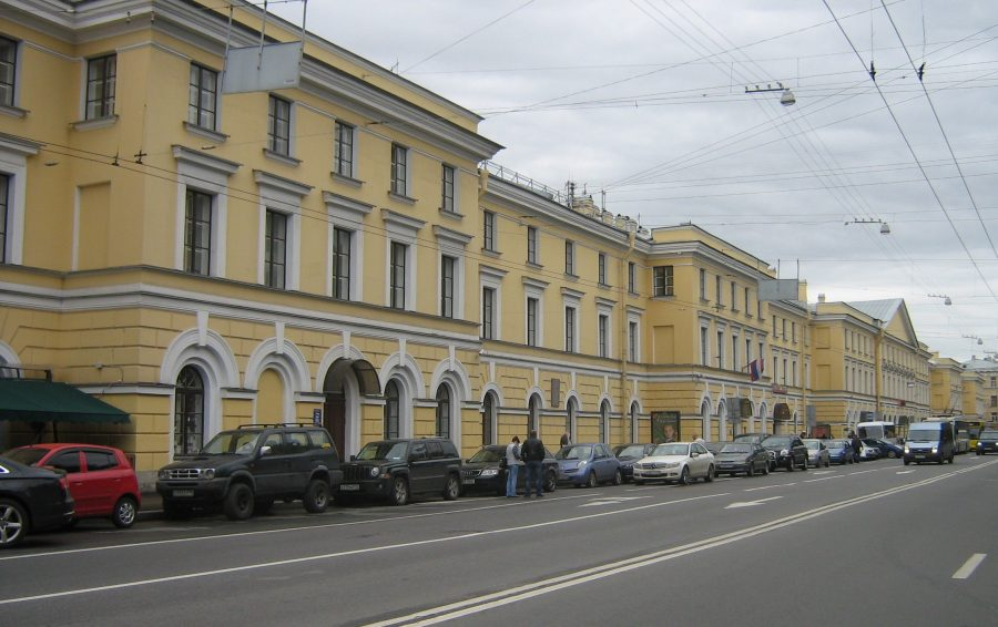 Александровский сад и Конногвардейский бульвар