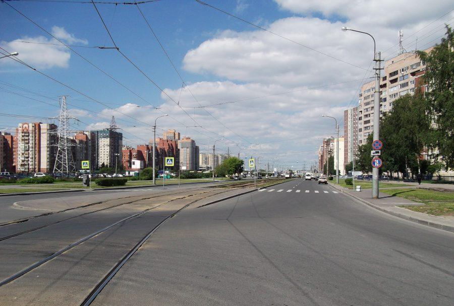 Брестский бульвар и улица Десантников