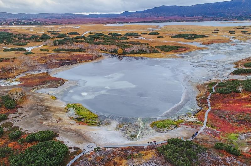 Камчатский вулкан Узон