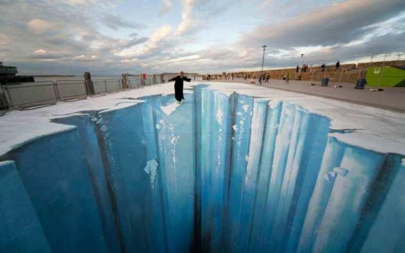 Невероятные арт-иллюзии