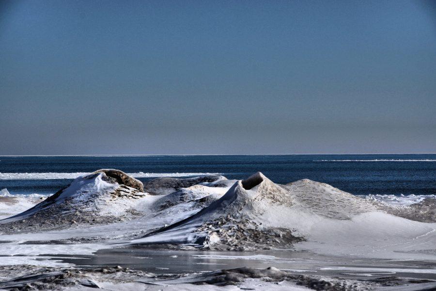 Мичиганский вулкан изо льда