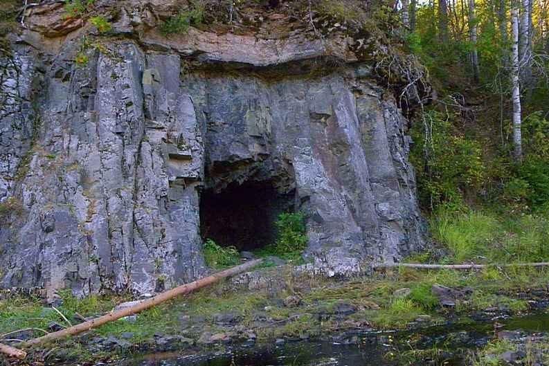 Пещера в Хакасии