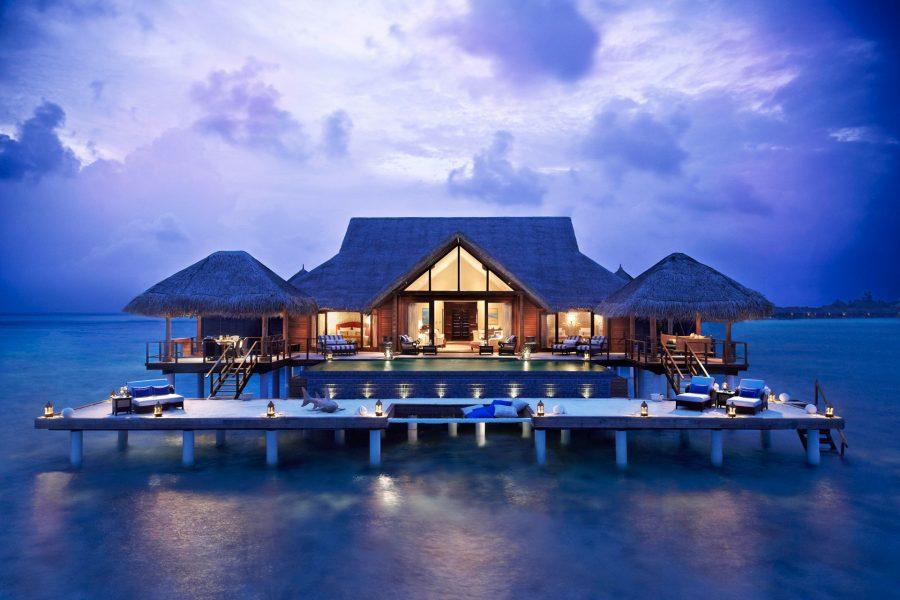 Здание на Мальдивах