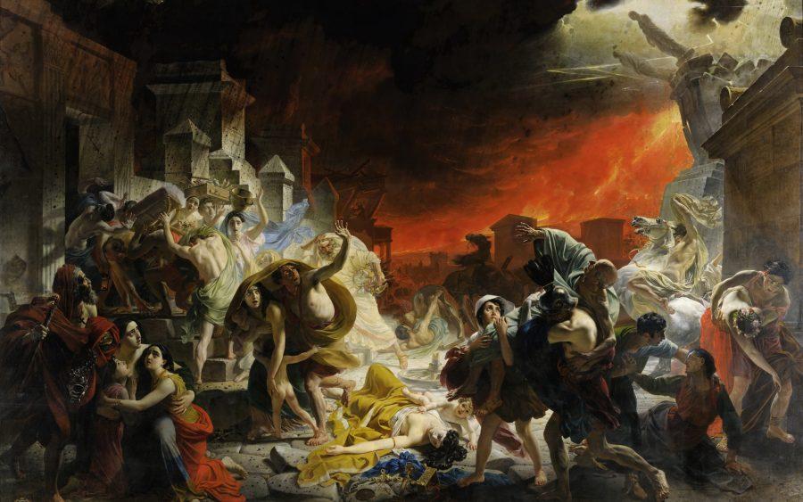 Трагедия Помпеи