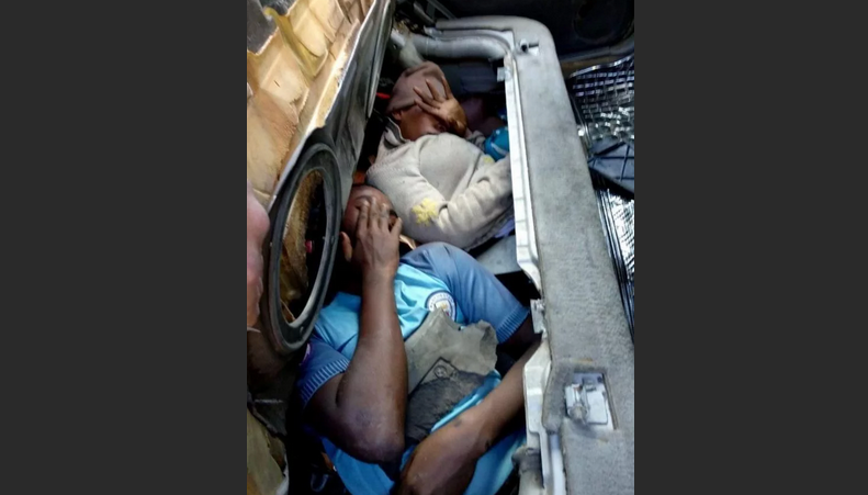 Люди в багажнике