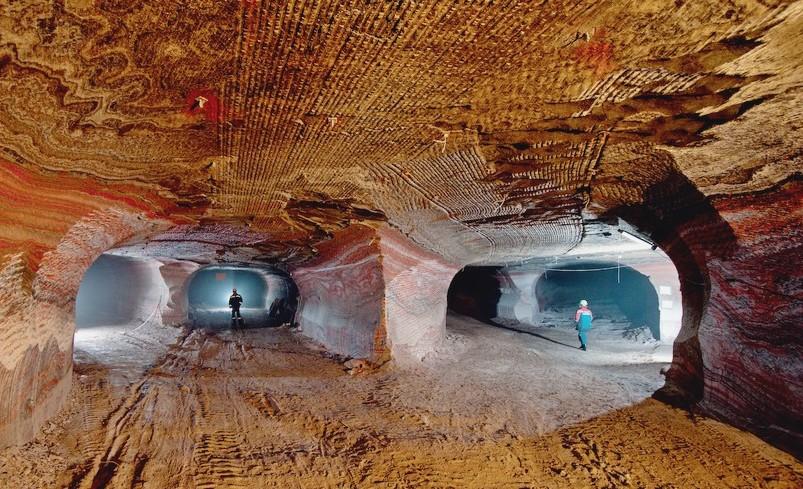 Добыча калийной соли на Урале