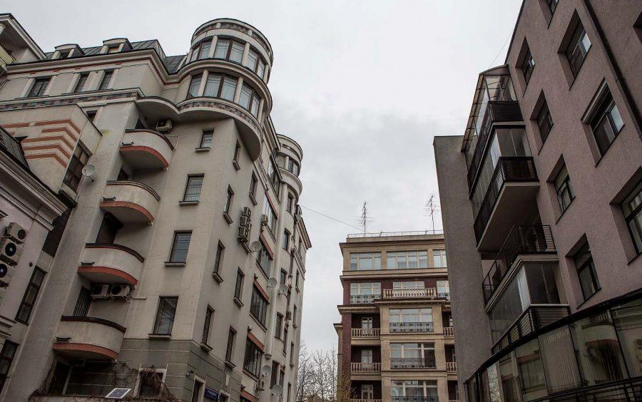 Район Золотая миля в Москве