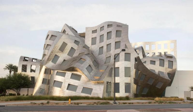 Здания архитектора Фрэнка Гери