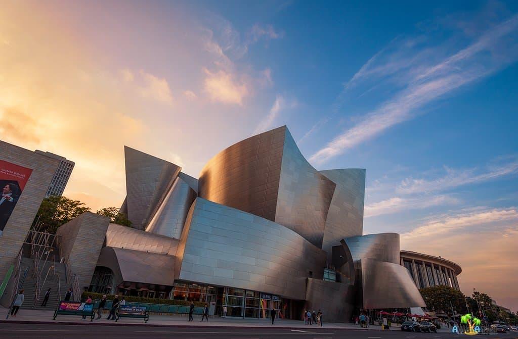 Концертный зал Уолта Диснея в США