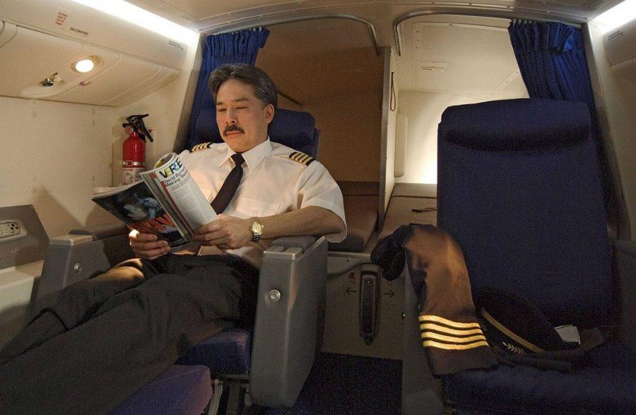 Отдых пилота