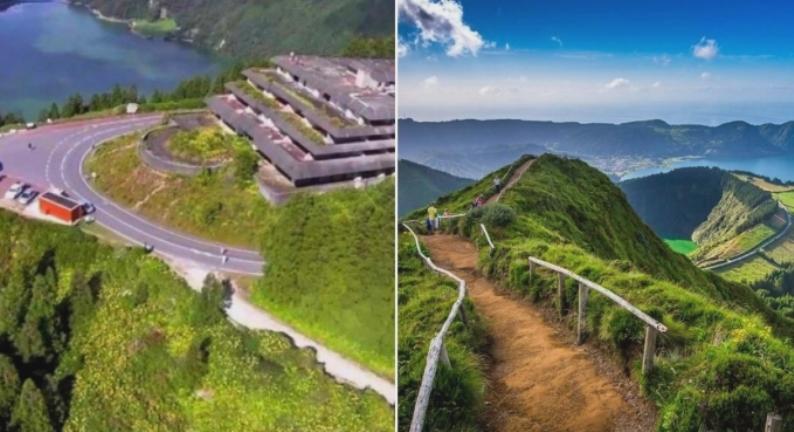 Отель на Азорских островах