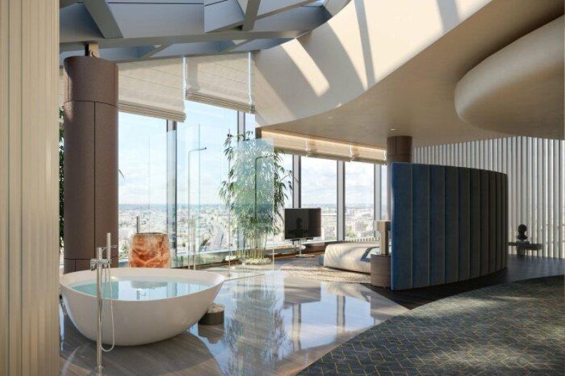 Квартира в небоскребе