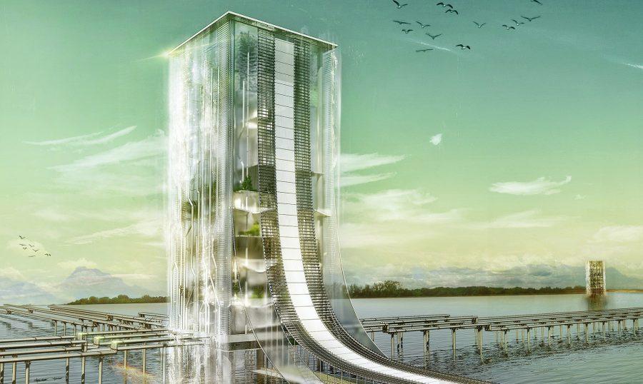 Проект небоскреба в Южной Корее