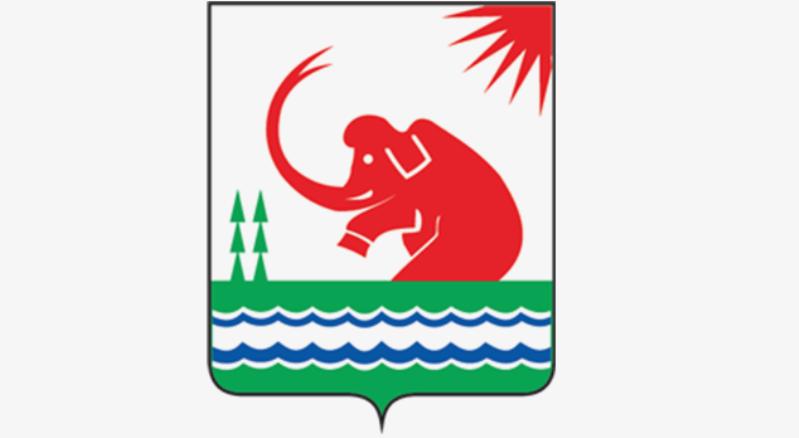 Восстающий мамонт герб