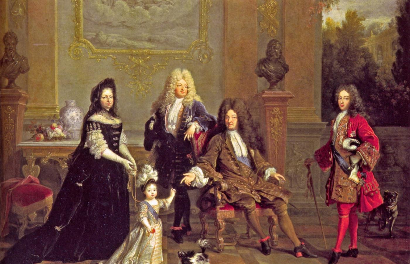 Во время правления Людовика XIV