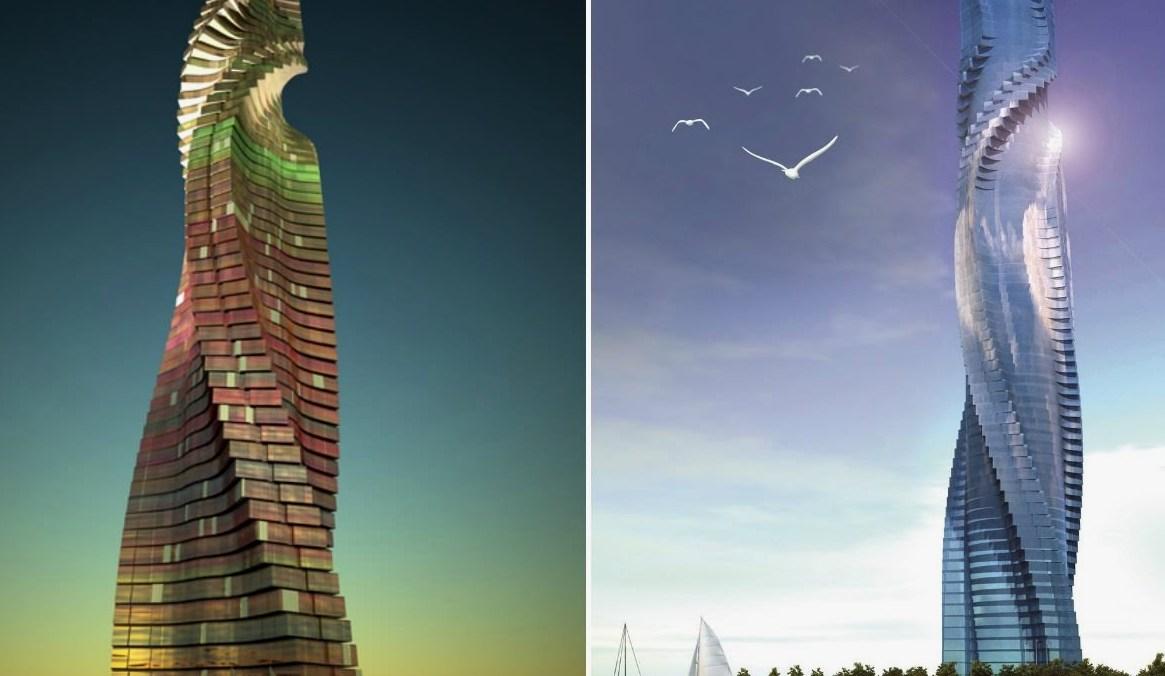 Башня в Дубае