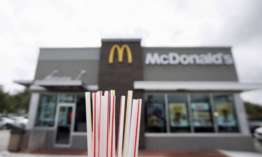 Пластиковые трубочки из Макдональдса