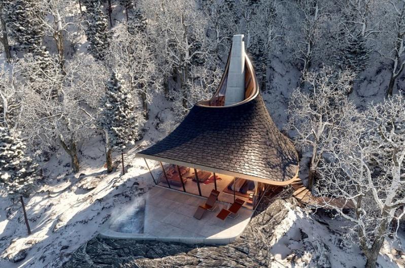 Проект отеля в Японии