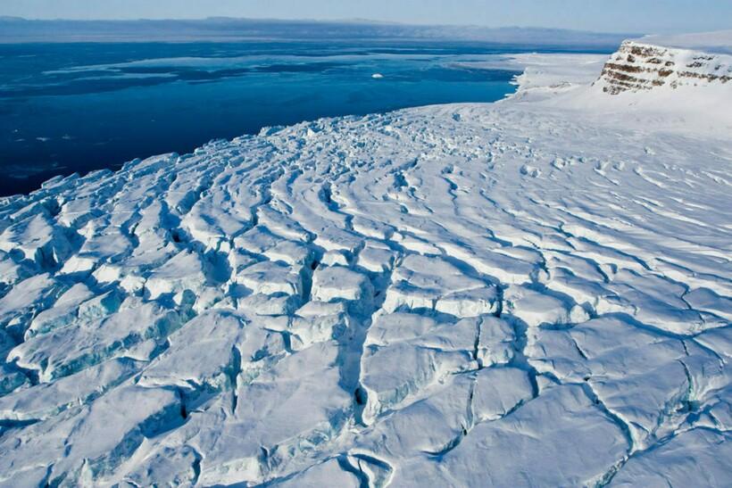Метан в море Лаптевых