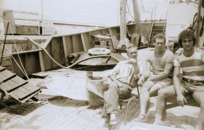 Моряки в Суэцком канале