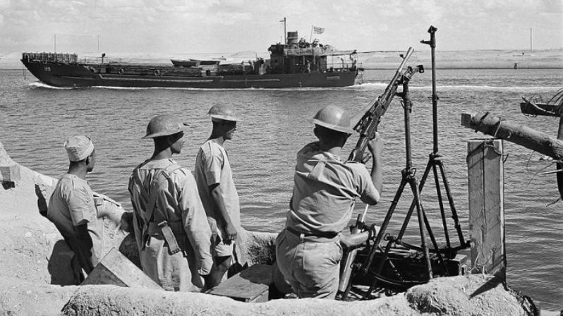 Корабли в Суэцком канале