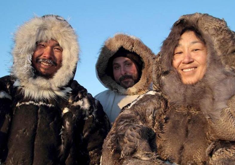 Гость с эскимосами