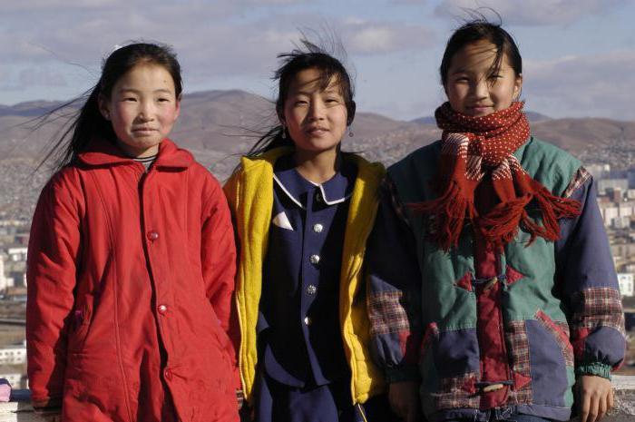 Жительницы Монголии