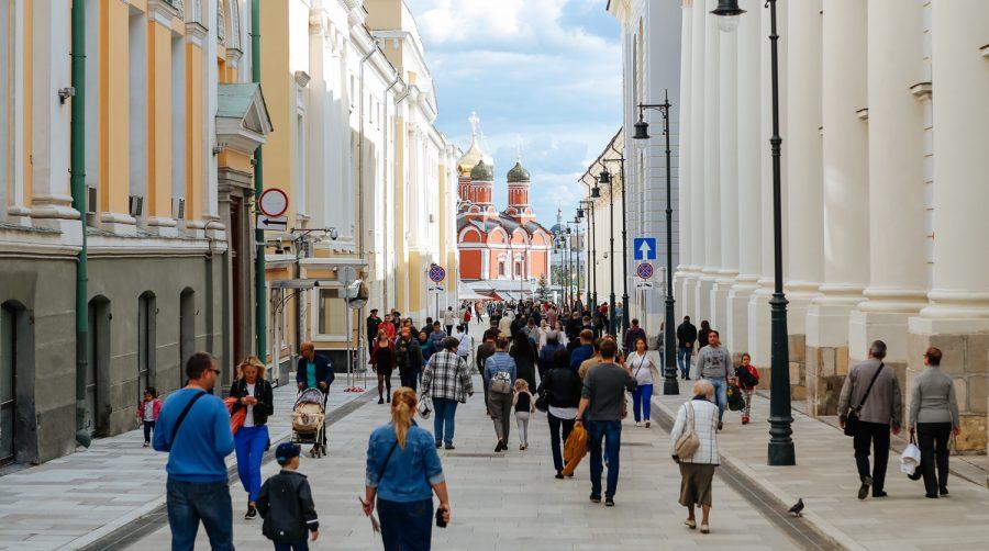 Улица для пеших прогулок