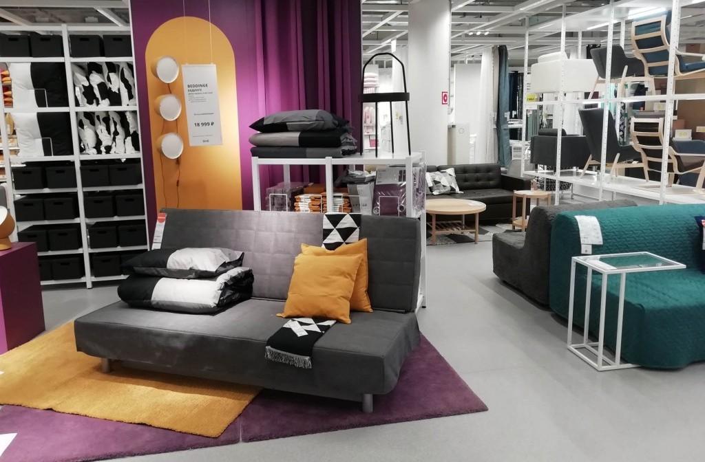 Сеть мебельных магазинов Икеа