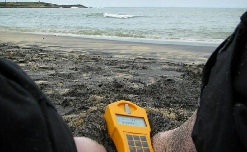 Радиоактивный пляж