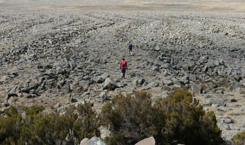 Рельеф в Эфиопии