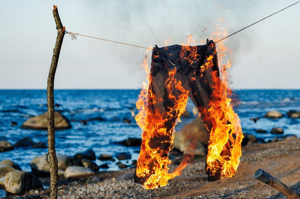 Горящие брюки