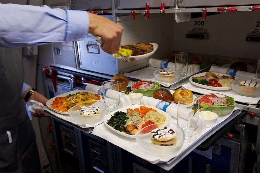 Вкус еды во время полета