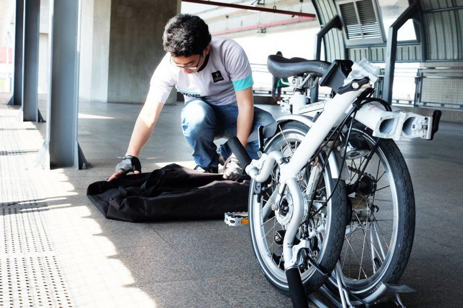 Упаковывать велосипед