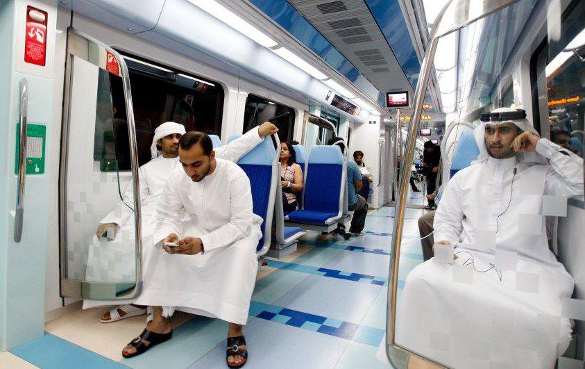 Метро Дубая