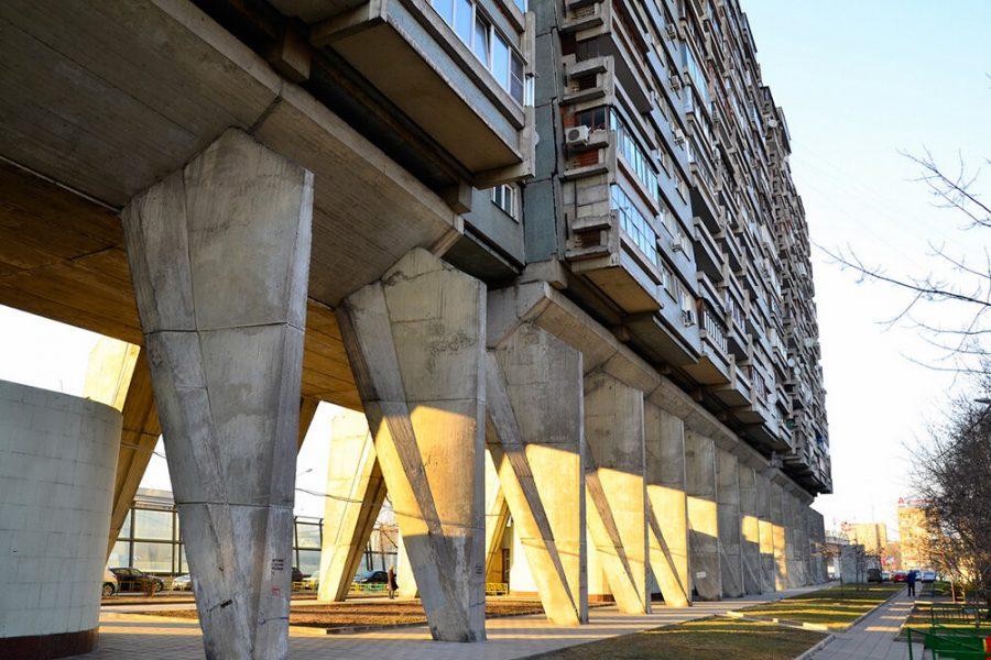 Многоэтажки на ножках