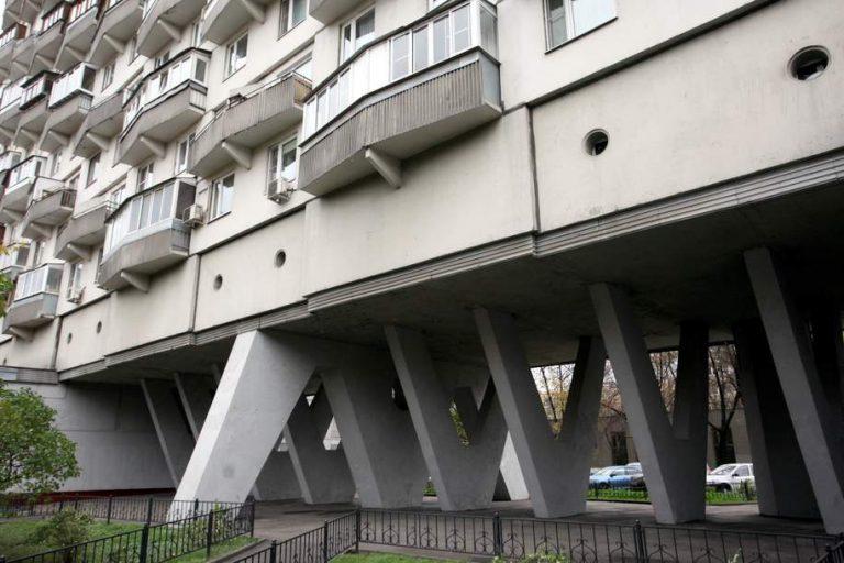 Многоэтажка на проспекте Мира